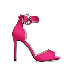 Carvela - Pink 'Lovesick' satin stiletto sandals