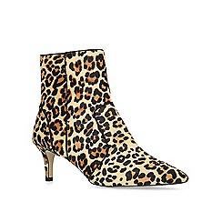 Carvela - Leopard 'Sugar' print mid heel ankle boots