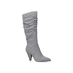 Carvela - Grey 'Pride' suedette high leg boots