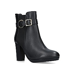 Carvela - Black 'Totally' mid heel ankle boots