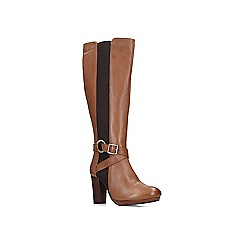 Carvela - Tan 'Total' leather heeled knee boots