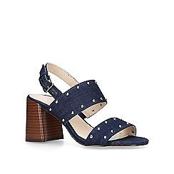 a94c4e18724 Block heel - blue - Nine West - Sandals - Women