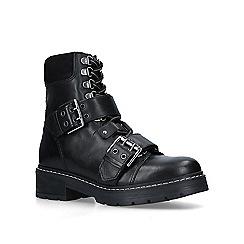 Carvela - Black 'Saunter' leather biker boots