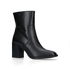 Carvela - Black 'Shiraz' leather block heel ankle boots