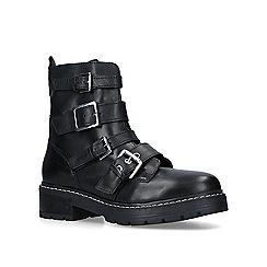 Carvela - Black 'Sprint' leather biker boots