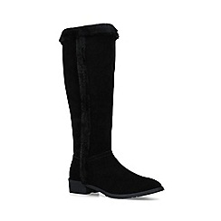 KG Kurt Geiger - Black 'Whitney' suede knee high boots