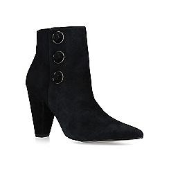 Carvela - Black 'Sum' suede embellished ankle boots