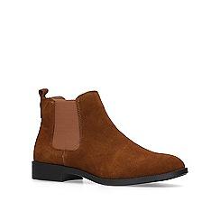 KG Kurt Geiger - Tan 'Tamsin' chelsea boots