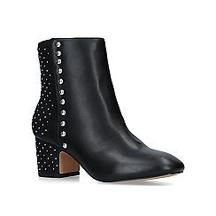 KG Kurt Geiger - Black 'Taio' mid heel ankle boots