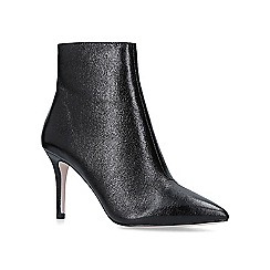 KG Kurt Geiger - Black 'Amber' stiletto heeled ankle boots