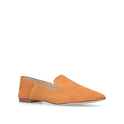 KG Kurt Geiger - Mustard 'Maria' slip on loafers