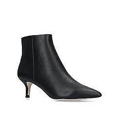 KG Kurt Geiger - Black 'Tamara' kitten heel ankle boots