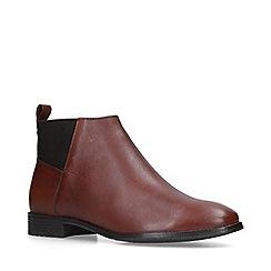Carvela Comfort - Tan 'Rexi' ankle boots