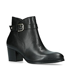 Nine West - Black 'Calm' block heeled ankle boots