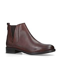 Nine West - Dark 'Crossley' red chelsea boots