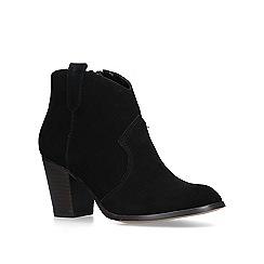 KG Kurt Geiger - Black 'Sade 2' block heel ankle boots
