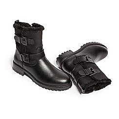 KG Kurt Geiger - Black 'Snug 2' biker boots