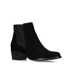 KG Kurt Geiger - Black 'Spider 2' pointed toe ankle boots