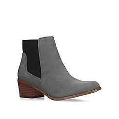 KG Kurt Geiger - Grey 'Spider 2' low heel ankle boots