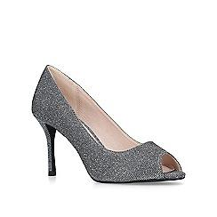 Miss KG - Pewter 'Cooper' mid heel court shoes