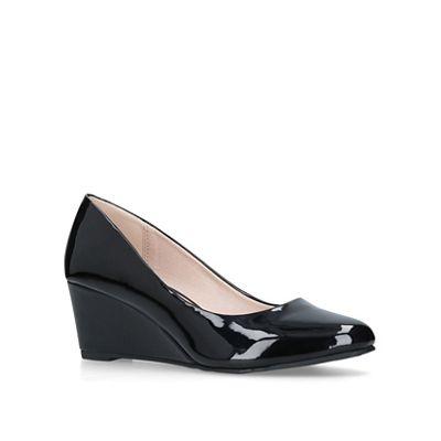 Miss KG - Black shoes 'Corey' mid heel court shoes Black 2e84cb