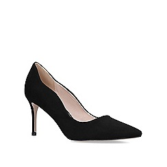 Miss KG - Black 'Corinthia' high heel court shoes