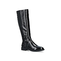 Miss KG - Black 'Hilly' patent knee high boots