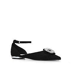 Miss KG - Black 'Jasmin' flat court shoes
