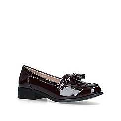 Miss KG - Wine 'Jordy' tassel loafers