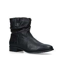 Miss KG - Black 'Jones' low heel ankle boots