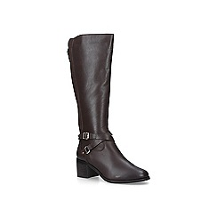 Nine West - Brown 'Raleigh' leather high leg boots