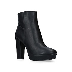 Miss KG - Black 'Shez 2' high heel ankle boots