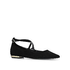 Carvela - Black 'Moss' flat pumps