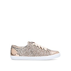 Carvela - Gold 'Jester' lace up trainers