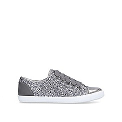 Carvela - Pewter 'Jester' lace up trainers