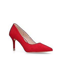 Carvela - Red 'Koven' high heel court shoes
