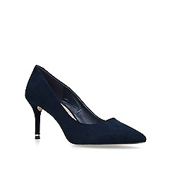 Carvela - Navy 'Koven' high heel court shoes
