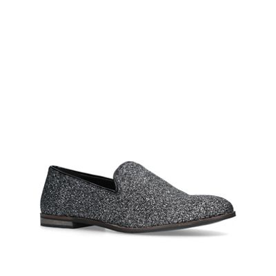 KG Kurt Geiger - Grey 'Finsbury' slip on loafers