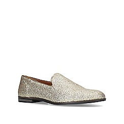 KG Kurt Geiger - Gold 'Finsbury' slip on loafers