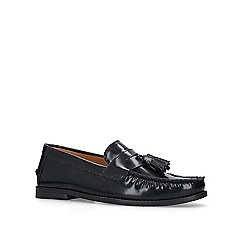 KG Kurt Geiger - Black 'Naughton' tassel loafers