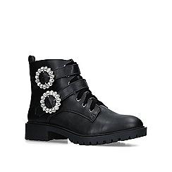 Miss KG - Black 'Jamal' low heel ankle boots