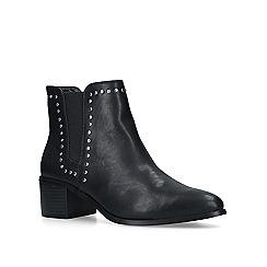Miss KG - Black 'Jubs' low heel ankle boots