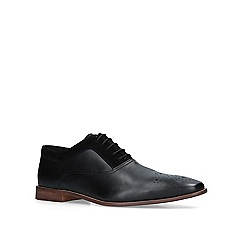 KG Kurt Geiger - Black 'Noah' leather oxford shoes