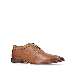 KG Kurt Geiger - Tan 'Noah' leather oxford shoes