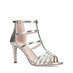 Miss KG - Gold 'Poppet' mid heel sandals