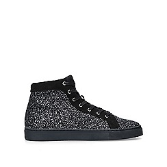 KG Kurt Geiger - Black 'Parkes' high top trainers