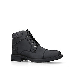 KG Kurt Geiger - Black 'Bellingham' leather ankle boots