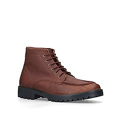 KG Kurt Geiger - Brown 'Braithwaite' leather boots