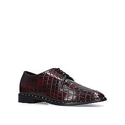 KG Kurt Geiger - Wine 'Mali' croc print loafers