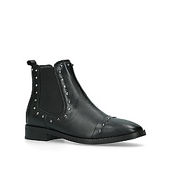KG Kurt Geiger - Black 'Tony' studded leather ankle boots
